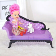 Baby Girl Princess Dreamhouse Sofa Chair Furniture Toys Doll Barbie accessory KW