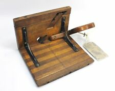 Antique Wood Patternmaking Core Box Plane & Pattern Maker's League Cards