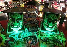 Medieval Madness Pinball Trolls light Mod GREEN Bally-Wms