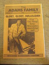 May-1997 Wycombe Wanderers: FANZINE-LA FAMIGLIA ADAMS EDIZIONE 27. grazie per la vista