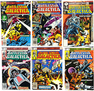 Original 1978-80 Battlestar Galactica Comic Book Collection- #1-23  Your Choice