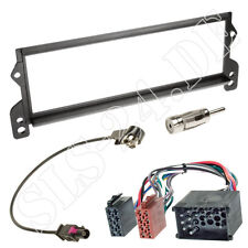 BMW Mini R50 R52 R53 Autoradio Blende + ISO RUND Pin KFZ Adapter Antennenadapter