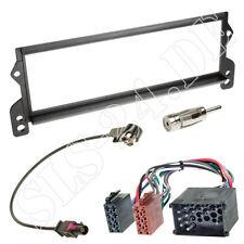 BMW Mini R50 R52 R53 Autoradio Blende + ISO RUND Pin KFZ Adapter Antennenadapter