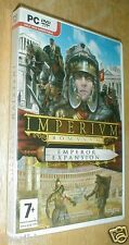 Game, Imperivm Romanvm Official Emperor Expansion Pack Add-On DVD for PC
