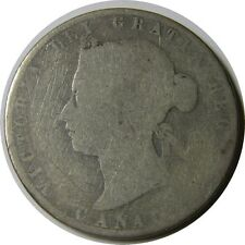 elf Canada 50 Cents 1872 H Victoria Inverted A for V in Victoria