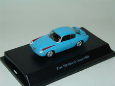 1 FIAT 750 ABARTH COUPE 1956 AZURE 1:43 STARLINE