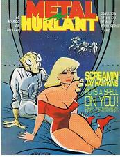METAL HURLANT N° 89 SCREAMIN' JAY HAWKINS PUTS A SPELL ON YOU 1983 TRES BON ETAT