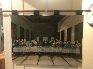 The Last Supper Wall Art Woven Tapestry Wall Hanging Home Decor