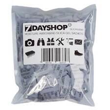 100 x sachets 1g paquetes de gel de sílice desecante de absorción de humedad paquetes bolsas