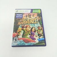 Kinect games - Kinect Adventures (Microsoft Xbox 360, 2010) Complete