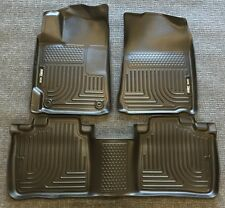 2011-2013 Infiniti QX56 Husky WeatherBeater All Weather floor Mats Black