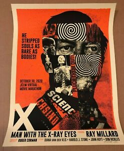 MAN WITH THE X-RAY EYES poster print (#15/60) METHANE STUDIOS Private Commission