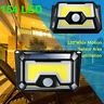 Solar Powered 154LED Light Waterproof Outdoor Security Garden Lamp Dusk-to-Dawn