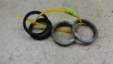 1968 kawasaki ga2 90cc S382-6~ chrome rubber fork trims rings