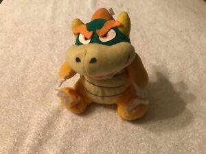 """Nintendo 64 Bowser 6"""" Beanbag Plush Nintendo Collectibles Super Mario 1997 Rare."""