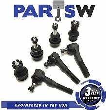 7 Pc Suspension Kit for TJ Cherokee Wrangler 1991 1992 1993 1994 1995 Ball Joint
