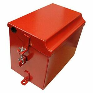Complete Tractor 1711-1023 Battery Box Red
