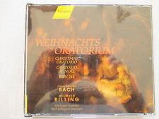 Bach: Weihnachtsoratorium Christmas Oratorio - Helmuth Rilling - 3 CD Neuwertig
