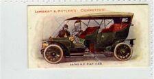 (Gb5781-100) Lambert & Butler, Motors, #11, 35-40 HP Fiat Car 1908 EX