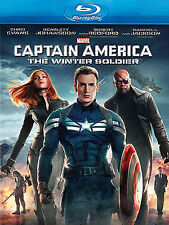 Captain America - The Winter Soldier (Blu-ray, 2014)