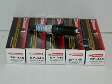 NEW SET OF 5 GENUINE OEM FORD MOTORCRAFT SP-445 COPPER CORE SPARK PLUG AGSP33C