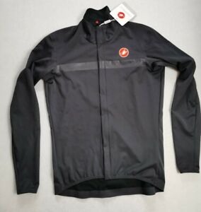 Castelli Goccia Jacket Dark Grey Large