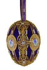 "SATIN BEADED CHRISTMAS ORNAMENT KIT - ""Royal Reflections"""