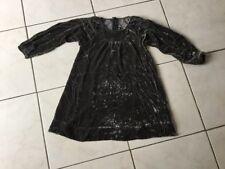 Robe LITTLE MARC JACOBS taille 6 velours bronze bon état