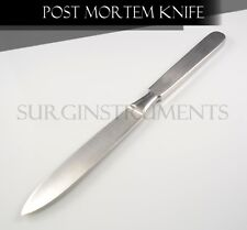 "Stainless Steel Autopsy Post Mortem Disection Knife Blade - 10.5"" Rounded Edges"