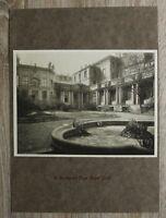 Blatt a Karton 1912 Berlin Loge Royal York Freimaurer Freund Architektur 24x33cm