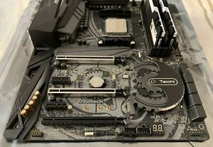 ASRock X470 Taichi Motherboard - AMD Ryzen 7 3700X CPU - 16GB DDR4 3200 RAM *KIT