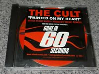 THE CULT Painted On My Heart RARE U.S DJ PROMO CD SINGLE Gone In 60 Seconds