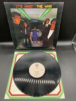 "The Who ""It's Hard"" LP, 1982, Warner Bros, Vinyl Album, 1-23731 Record LP"