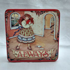 "Mary Engelbreit ""Always"" Tin Valentine/Love Letters/Friendship/Hearts 1990s"