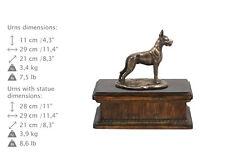 Deutsche Dogge, exclusive Urne, Kalte Bronze, ArtDog, CH