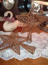 Rusty Metal Mesh Barn Star TreeTopper Shelf Sitter Rustic Americana Primitive Cr