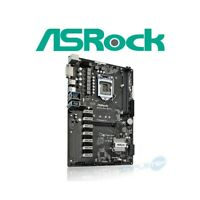 SCHEDA MADRE ATX ASROCK H110 PRO BTC+ 1151 MINING NVME M.2 DDR4 13X GPU VIDEO.