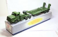 Dinky 660 Mighty Antar Tank Transporter In Its Original Box - Excellent 1950s