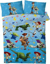 Disney Toy Story 4 Double Duvet Quilt Cover Set Boys Girls Kids Children