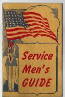 Service Men's Guide - Helps Heavenward 1943 James Spink WWII / Illus Booklet