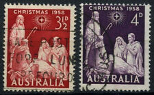 Australia 1958 SG#306-7 Christmas Used Set #D37844
