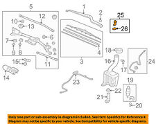 HONDA OEM 09-15 Pilot-Winshield Hood Nozzle 76810SZAA01ZA