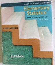 Elementary Statistics : A Brief by Bluman 10th Annotated Instructor's Edition