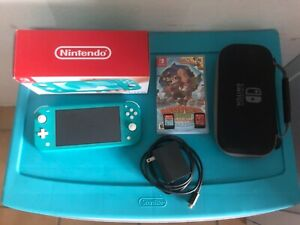 Turquoise Nintendo Switch Lite Bundle