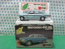 Vintage  -  MERCEDES-BENZ 450 SEL   - 1/24 Bburago Art. 0122 - MIB