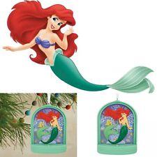 Hallmark Disney Little Mermaid Ariel Christmas Tree Ornament 🌟Lights Up🌟