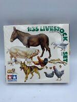 1/35 Tamiya Livestock Set-Military Miniatures Series #128 Models Life Like