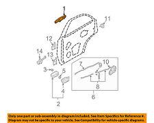KIA OEM 07-09 Sorento Rear Door-Handle Outside Exterior Left 836503E040
