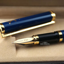 S.T. Dupont Blue Chinese Lacquer Fountain Pen