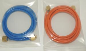 "Micro Bore - Light Weight Propane Hose 3m long - G1/4"" BSP (1/4) Fittings"
